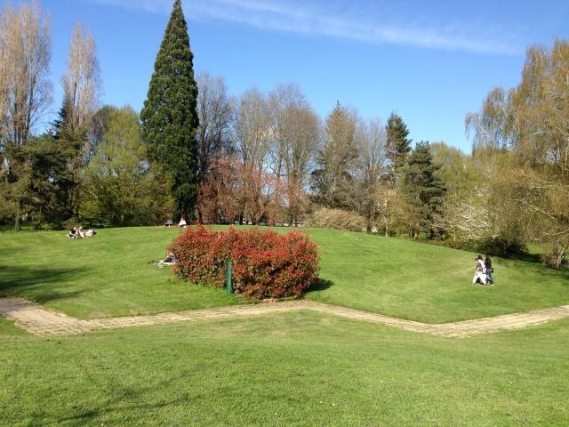 Le parc de Bréquigny à Rennes / Bréquigny Park in Rennes